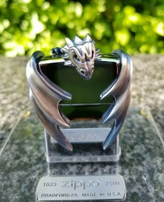 Zippo,  Anne Stokes Guardian Dragon,  Limited Edition ( (extremely Rare))