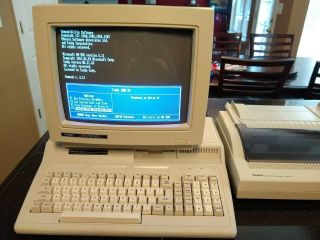 Vintage TANDY 1000 HX 1000HX Computer in boxes with monitor & printer 12