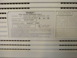 Vintage TANDY 1000 HX 1000HX Computer in boxes with monitor & printer 5
