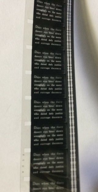 Vintage Movie 16mm THE OUTLAW Feature 1943 Film Adventure Howard Hughes Drama 4