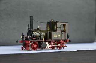 Micro Metakit 10102h Brass Kpev T0 1913 Steam Engine Rare