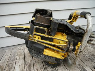 VINTAGE MCCULLOCH PRO 125C SP125 CHAINSAW NR NON - RUNNING 12
