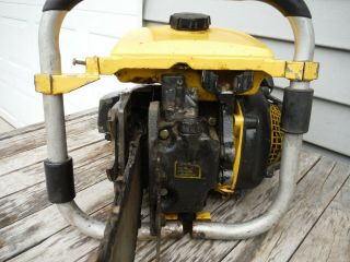 VINTAGE MCCULLOCH PRO 125C SP125 CHAINSAW NR NON - RUNNING 7