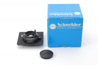 【rare Unused】schneider Apo Symmar 100mm F5.  6 Mc Lens,  Copal N0.  0 From Japan