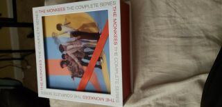 The Monkees The Complete Series Blu - Ray 11 Disc Box Set Rare Blu Ray