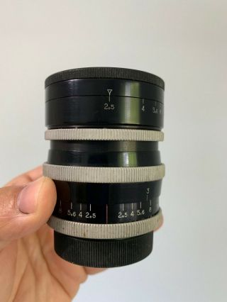 Angenieux 35mm F2.  5 Type R1 Vintage France M42 Praktica Edixa Mount Lens