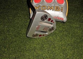 Awesome Titleist Scotty Cameron Kombi Ct Circle T Tour Only Putter Rare Look