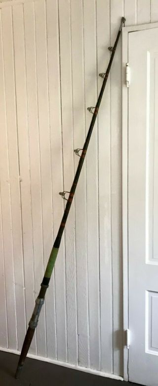 Vintage 30s - 40s Big Game Tuna Rod