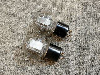 """ Very Rare Western Electric 102d Tennis Ball Preamp Tubes.  Pair (2ea)"