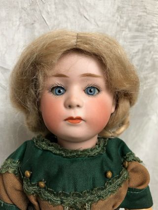 Antique German Gebruder Heubach 7246 Bisque Child Doll 14 ""