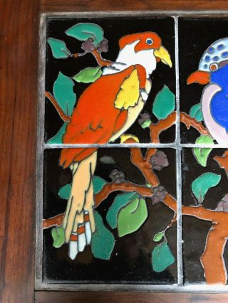 Vintage tiles pottery birds Taylor Arts Crafts Santa Monica Malibu California 4