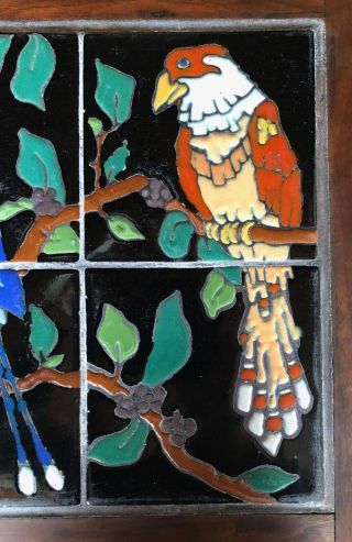 Vintage tiles pottery birds Taylor Arts Crafts Santa Monica Malibu California 6