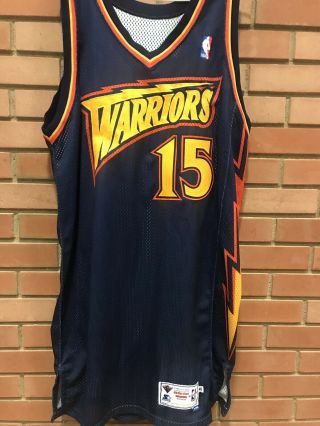 Rare Latrell Sprewell Golden State Warriors Game Issued Pro Cut Jersey Curry Kd