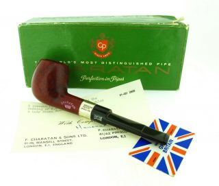 Charatan Royal Wedding Private Production Pipe Rare Unsmoked