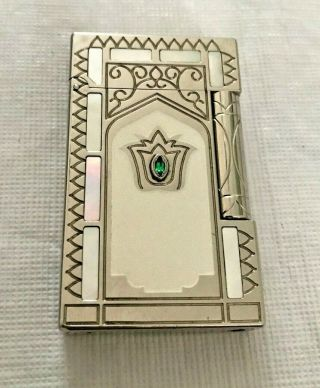 St Dupont Taj Mahal Lighter Limited Edition 0746/2000 Cigarette Lighter Rare