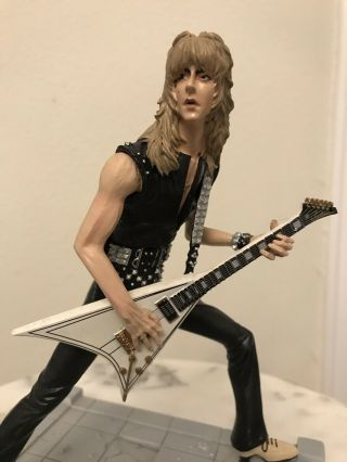 Rare Randy Rhoads Ozzy Osbourne Rock Iconz™ Statue From Knucklebonz