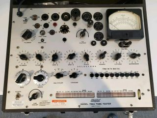 Hickok 752a Vintage Tube Tester Calibrated,