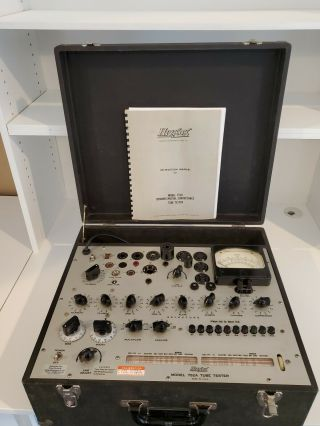 Hickok 752A Vintage Tube Tester calibrated, 2