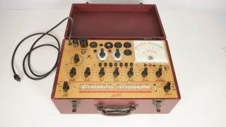 Hickok Model 800 Vacuum Tube Tester - Dynamic Mutual Conductance - Vintage