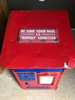 Old,  Vintage,  Antique Canada Post Mailbox