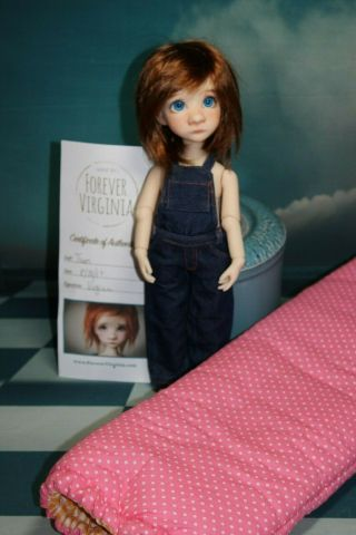 "Rare,  Sweet "" Tum "",  Friend For Kaye Wiggs,  Liz Frost Dolls,  12 "" Of Crazy Cute"