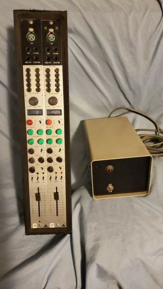 Trident Fleximix Channel Pair,  2 Vintage Mic Pre & Eq,  Power Supply Neve Api Ssl