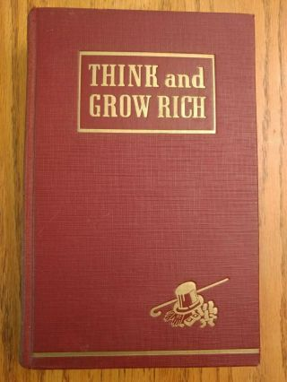 Think And Grow Rich - 1st Edition 1937 Napoleon Hill - Rare
