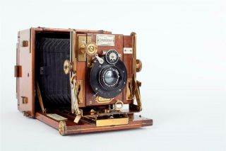 """Vintage """" The Sanderson  Tropical Model """" Camera By """" Houghton - Butcher """""""