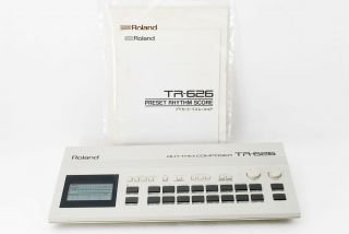 Roland Tr - 626 Rhythm Composer.  Vintage Drum Machine From Japan