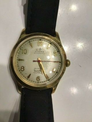 Rare - Historical - Vintage - Stowa - Automatic - Watch - Gold - Plated