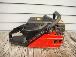 Vintage Jonsered 2095 Chainsaw Power Head Spark And Good Compression
