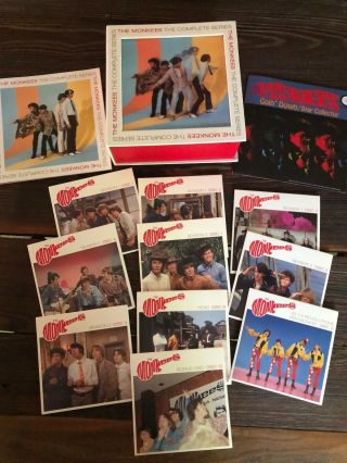 The Monkees The Complete Series Blu - Ray 10 - Disc Box Set Rare Oop