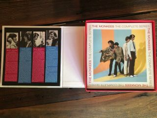 THE MONKEES The Complete Series Blu - ray 10 - disc box set RARE OOP 6