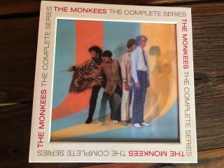 THE MONKEES The Complete Series Blu - ray 10 - disc box set RARE OOP 8