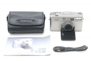 【rare Top Mint】contax Tvs Iii D 2000 Years Anniversary,  Case From Japan 1219