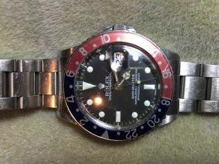 Rolex Gmt Master,  1966,  Oyster Perpetual Chronometer,  Owner