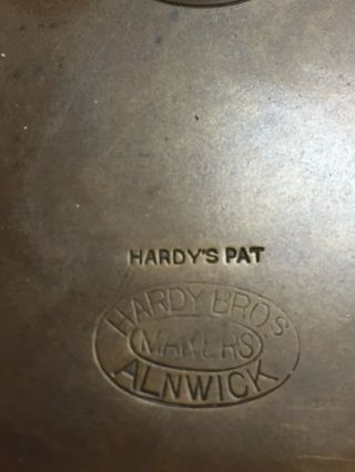 """1896 Museum Quality Hardy Antique Brass 41/2"""" Perfect Rod in Hand/Enclosed logo 4"""