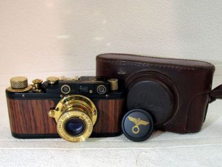 Leica - Ii (d) Wiking Wwii Vintage Russian 35mm Range Finder Black Camera
