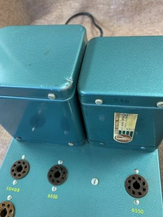 2 Altec A 340A 6550 tube studio grade vintage audio amplifiers Mono Block A340A 5