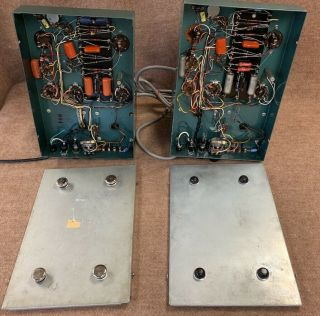 2 Altec A 340A 6550 tube studio grade vintage audio amplifiers Mono Block A340A 9