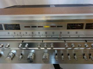 Vintage Pioneer SX - 1280 stereo receiver.  Close to.  Serviced 4