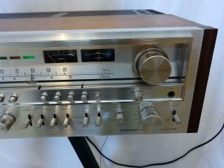 Vintage Pioneer SX - 1280 stereo receiver.  Close to.  Serviced 5