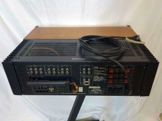 Vintage Pioneer SX - 1280 stereo receiver.  Close to.  Serviced 8