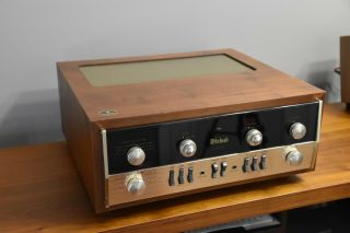 Vintage Mcintosh Ma230 Ma 230 Stereo Integrated Amplifier Pre - Amp Great