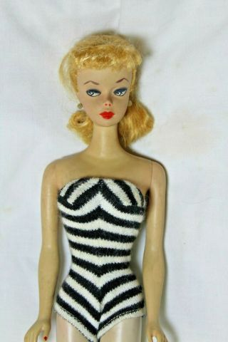 Just Discovered Estate 1959 2 Blonde Ponytail Barbie Doll Nr
