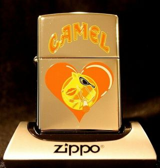 Camel Zippo - Cz 216 - Joe Valentine - Extremely Rare - Prototype/sample - Mib