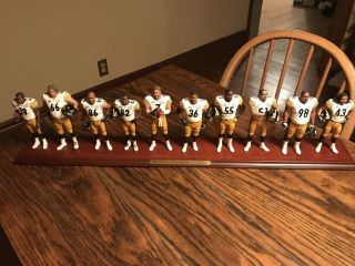 Pittsburgh Steelers Bowl Xl Champs Danbury Team Figurine Nm/m Rare