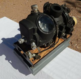 Rare Ww 2 Us Aaf B - 17,  B - 24 B - 29 Bomber Norden Bombsight Type M - 9 With Stand
