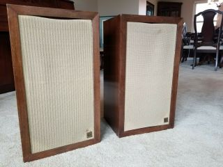 Vintage Acoustic Research Ar - 3 Ar3 Speakers Bought,  Well Taken Care Of