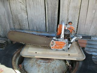 Vintage Rexo Ls Petrol Chainsaw.  Example.  Will Ship Worldwide